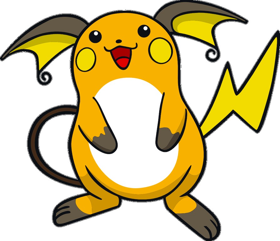 Comment dessiner raichu - Dessiner pokemon ...