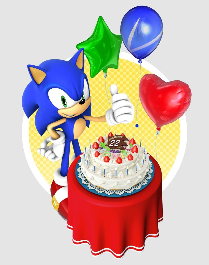 Sonic 22 ans